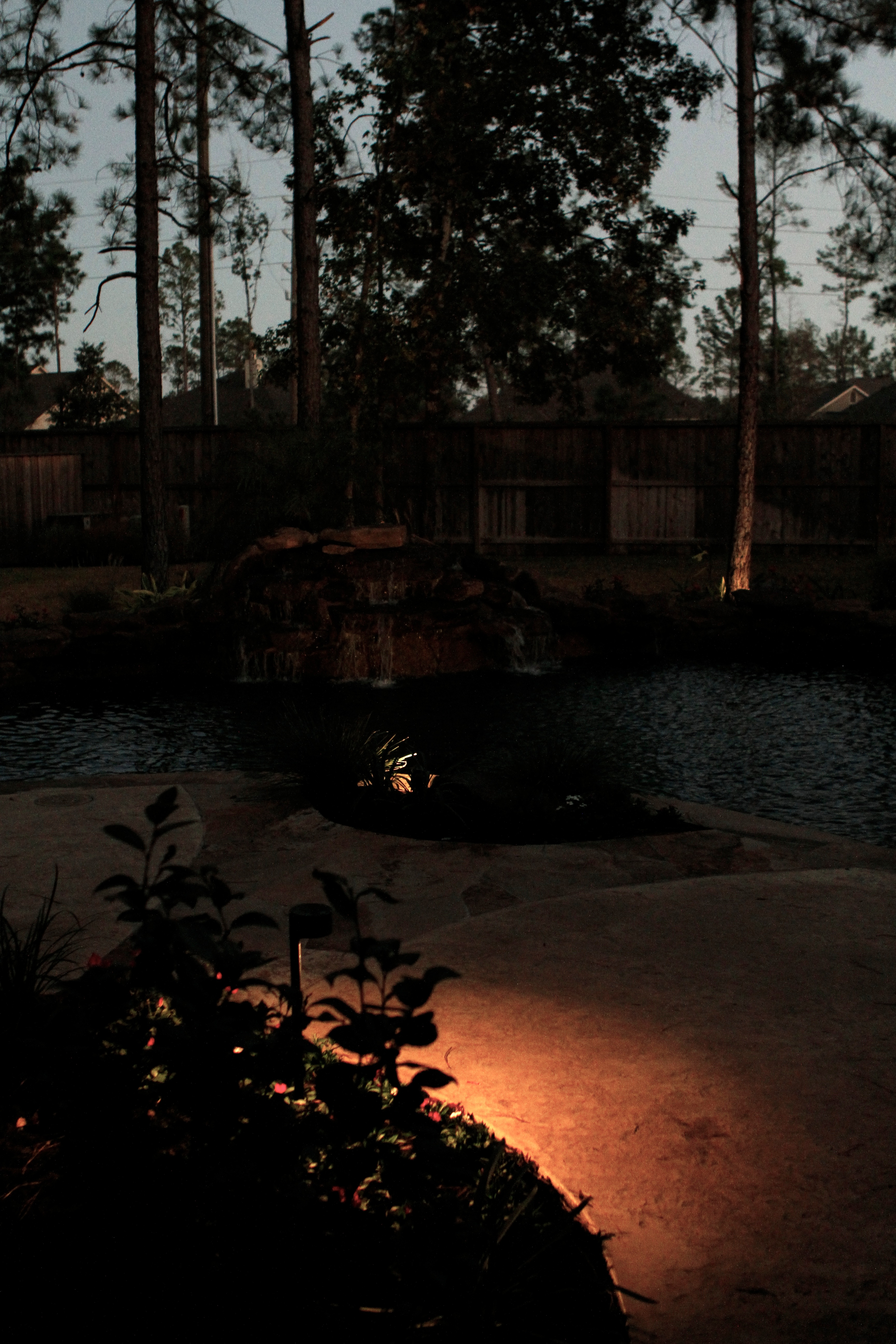 landscape lighting houston tx